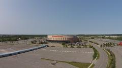 Ottawa Senators Arena Aerial Stock Footage