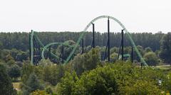 Rollercoaster ride Kuvituskuvat