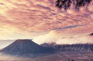 Bromo volcano in Java Stock Photos