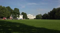 Elagin Palace in St. Petersburg. 4K. Stock Footage