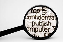 Publish confidential Stock Illustration