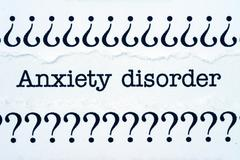 anxiety disorder - stock illustration
