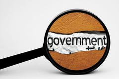 Stock Illustration of government search