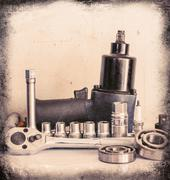 tools set - stock photo
