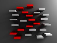 Ladder to success Stock Illustration