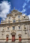 New cathedral of coimbra, portugal Stock Photos