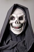 Skull dress, expressive. Stock Photos