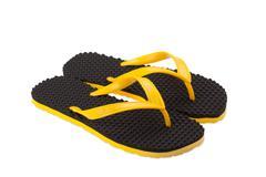 Flipflop or sandal shoe Stock Photos