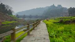 Chengyang village hyperlapse 4K Stock Footage