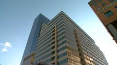 Stock Video Footage of Minneapolis Minnesota downtown building