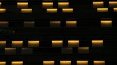 Colorful Flashing Light Stock Footage