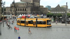 The old Dresden, Germany. Stock Footage