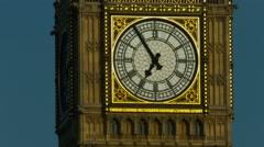 Big Ben, London BCU static. 4K - stock footage