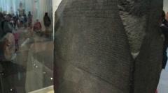 Rosetta Stone - stock footage
