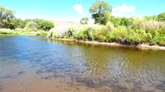 The Carson River Rippling Water Stock Footage
