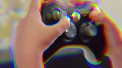 Xbox 360 Remote Effect - stock footage