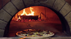 Chef Pizza Stock Footage