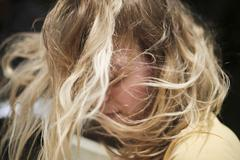 The Wind In My Hair Stock Photos