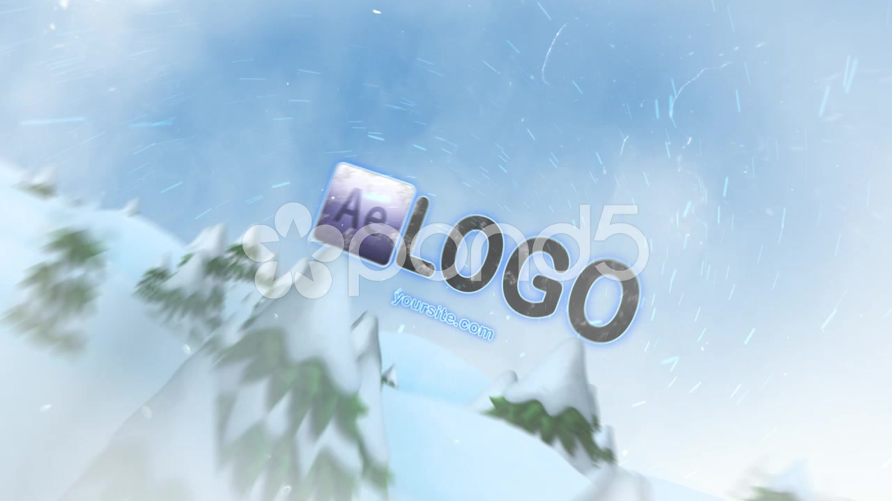 After Effects Project - Pond5 Winter Frost Logo 40757505