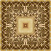 seamless pattern, oil painting - stock illustration