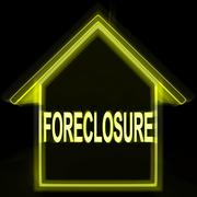 Foreclosure house home repossession to recover debt Piirros