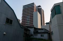 Otaru apartment Stock Photos