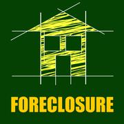 Plans foreclosure representing repayments stopped and layout Piirros