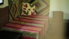 Inside View Of A Traditional Old House Stock Footage
