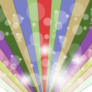 rays background meaning backgrounds radiate and colors - stock illustration