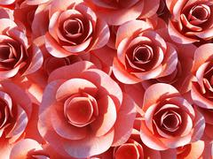 background roses representing abstract romantic and bloom - stock illustration