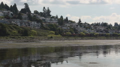 Coal Train, White Rock, BC Stock Footage