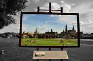 Stock Photo of dresden, der blick des canaletto