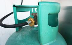 Gas cylinder Stock Photos