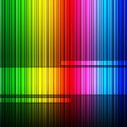 spectrum background meaning colour splash and multicolor - stock illustration