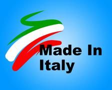 Stock Illustration of italy trade representing made in and production