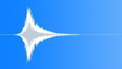 Monster Breathe Whoosh To Noisy Hit (Thriller, Horror, Cinematic) Sound Effect