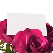 Gift card indicating empty space and valentines Stock Illustration