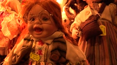 Toy dolls Stock Footage