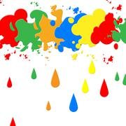 background paint meaning painter splat and colour - stock illustration