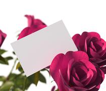 Stock Illustration of gift card indicating text space and gift-card
