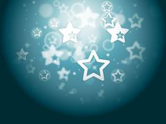 stars background shows glittery wallpaper or twinkling stars. - stock illustration