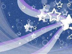 stars background shows night sky and constellations. - stock illustration