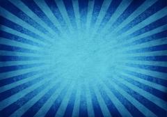 Retro exploding blue background Stock Illustration