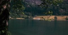 4k, oppstrynsvatnet pan, norway Stock Footage