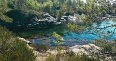 4k, idyllic sognefjord bay, norway - stock footage