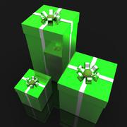 Giftboxes celebration means wrapped celebrate and occasion Stock Illustration