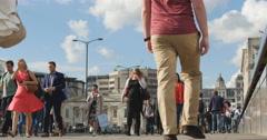 Growing population in major cities 4K Stock Footage