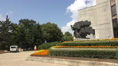 Administration, the community of Varna. Bulgaria. 4K. Stock Footage
