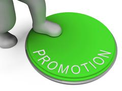 Switch promo shows reduction cheap and promotional Stock Illustration