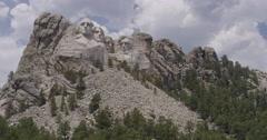 Mt. Rushmore Full Shot Stock Footage